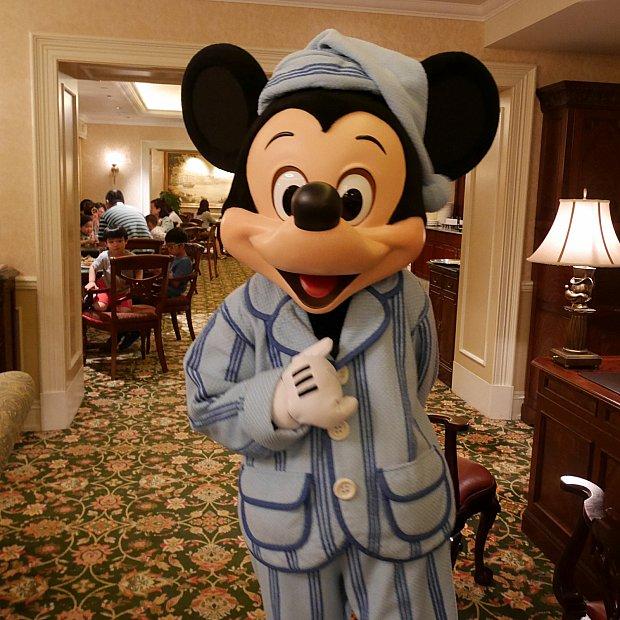 ディズニーホテル パジャマ